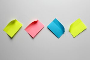 Sticky notes for memory booster