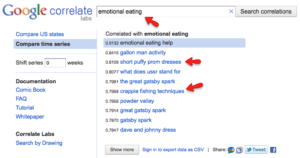 google correlate infomixture.com